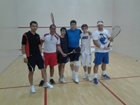 Squash Professional of the Hartunian Squash Academy from Canada at Grand Sport